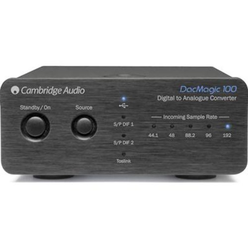 Cambridge Audio DacMagic 100 (Black) Stereo DAC with asynchronous USB input