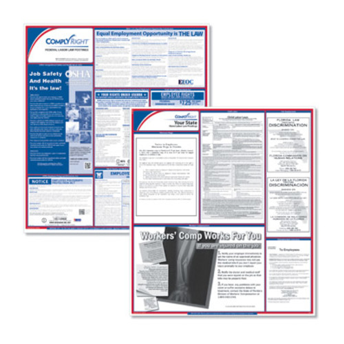 ComplyRight North Dakota Federal & State Labor Law Poster Kit - Uninsured 2014 [Ships In : 1 to 3 days;  : ; Price : ; Unit : each]