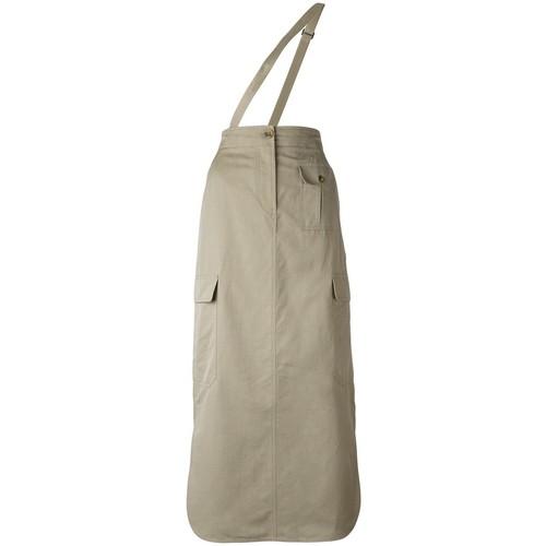 HELMUT LANG Shoulder-Strap Cargo Skirt