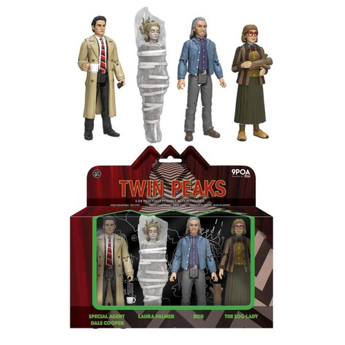 Funko Twin Peaks 4 Pack 3.75 inch Vinyl Figure - Dale Cooper, Laura Palmer, Bob and Log Lady