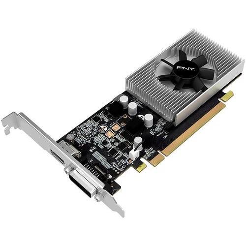 PNY - NVIDIA GeForce GT 1030 2GB GDDR5 PCI Express 3.0 x4 Graphics Card - Gray