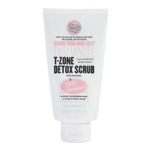 Soap & Glory Scrub Your Nose In It Two-Minute T-Zone Detox Scrub - 5oz