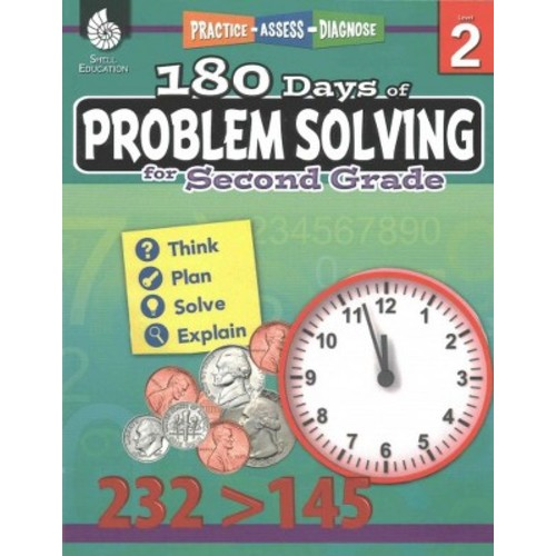 180 Days of Problem Solving for Second Grade (Paperback) (Donna Ventura)
