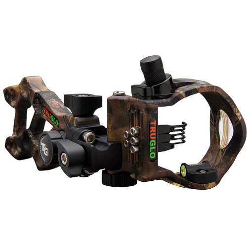 TruGlo Rival Hunter 5 Pin Light Bow Sight, .019