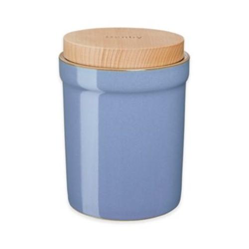 Denby Heritage Fountain Storage Jar in Blue
