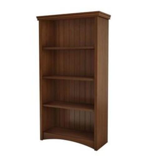 South Shore 7356767 Gascony Shelf Bookcase - Sumptuous Cherry