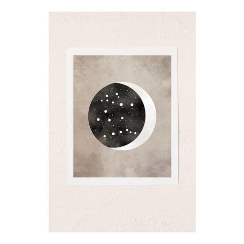 Claire Goodchild Moon & Stars Gemini Art Print [REGULAR]