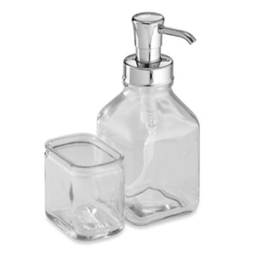 InterDesign Cora Dish Soap Pump and Side Caddy