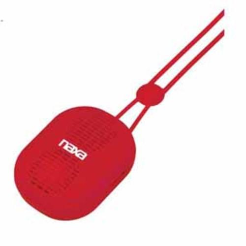 Naxa Neckband Bluetooth Speaker - Red
