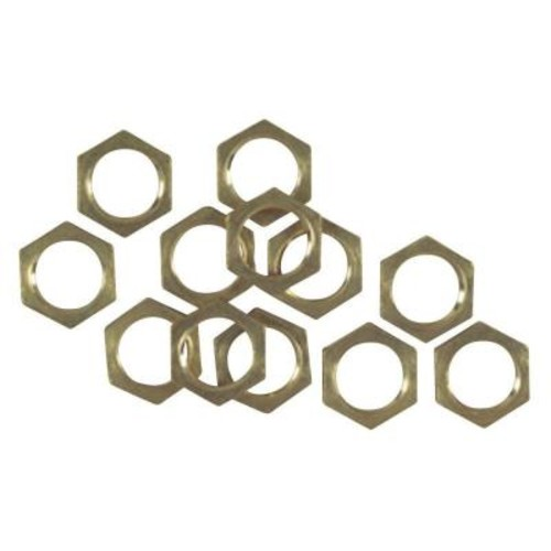 Westinghouse 12 Solid Brass Hex Nuts
