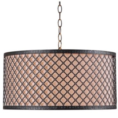 Kenroy Home Hawthorn 3-Light Pendant in Bronze