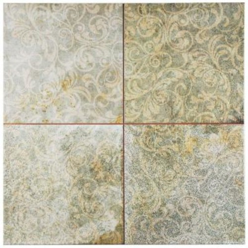 Merola Tile Kings Houston 17-3/4 in. x 17-3/4 in. Ceramic Floor and Wall Tile (11.3 sq. ft. / case)
