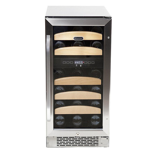 Whynter BWR-281DZ 28 bottle Dual Temperature Zone Built-In Wine Refrigerator