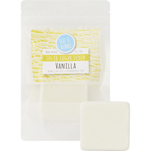Vanilla Solid Sugar Scrub
