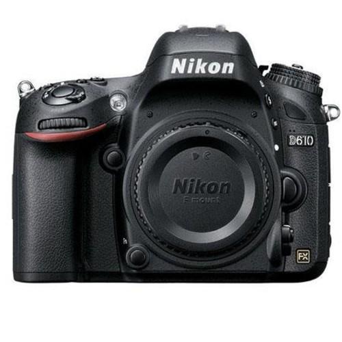 Nikon D610 DSLR Camera W/ Rode Microphones VideoMic Pro R Cardioid Condenser 1540 RD