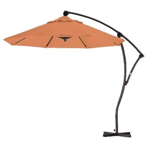 9' Aluminum Crank Lift Patio Umbrella