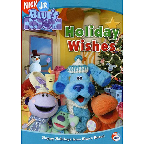 Blue's Clues Blue's Room Holiday Wishes DVD