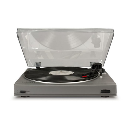 Crosley T200 Turntable - Silver