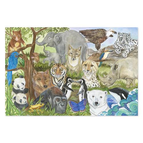 Melissa & Doug Endangered Species48 Piece Floor Puzzle