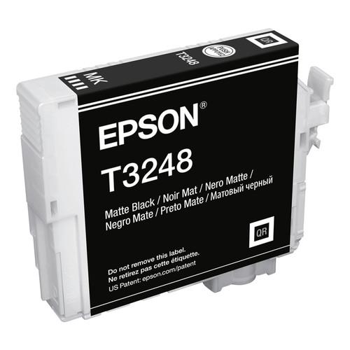 Epson T324820 (324) UltraChrome HG2 Ink, Matte Black