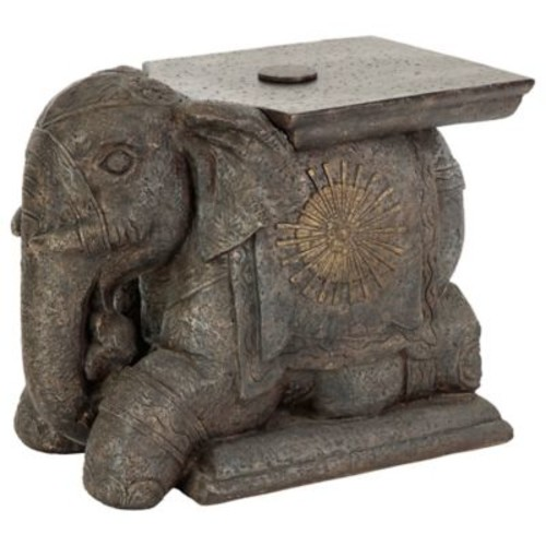 Bombay Outdoor Elephant Umbrella Base and Table