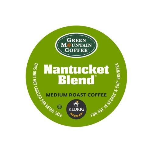 Green Mountain Coffee Nantucket Blend Keurig Single-Serve K-Cup Pods, Medium Roast Coffee, 24 Count