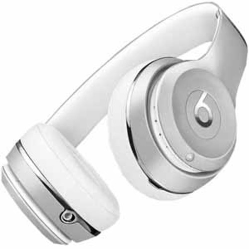 Beats By Dre Solo3 Bluetooth On-Ear Headphones with Mic Control - Silver