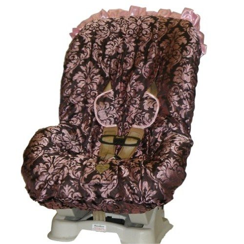 Pink Champagne Toddler Car Seat Cover