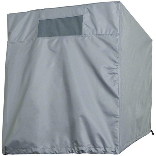 Classic Accessories Down Draft Evaporative Cooler Cover  Gray, Fits 40in.W x 40in.D x 31in.H Coolers,