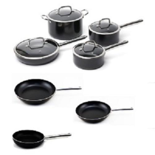 BergHOFF EarthChef Boreal Cookware Set Non-Stick Aluminum 11pc