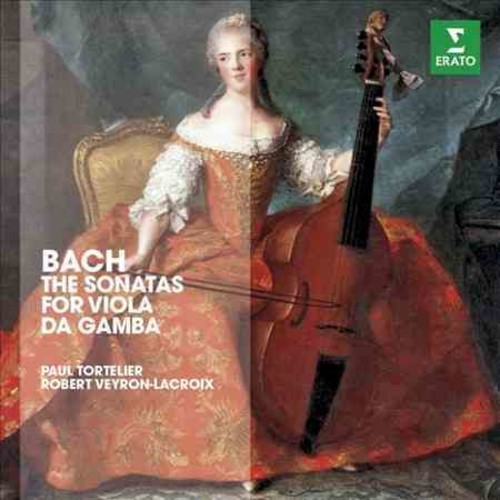 Paul Tortelier - Bach: Sonatas for Cello & Harpsichord