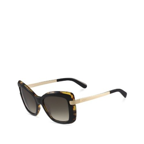 SALVATORE FERRAGAMO Zyl Square Butterfly Sunglasses, 54Mm