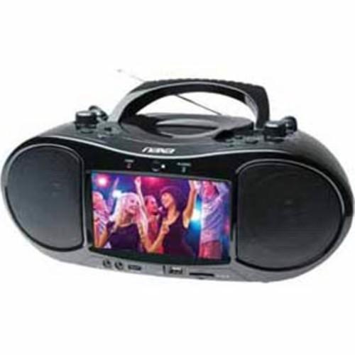 Naxa 7 Bluetooth DVD Boombox and TV