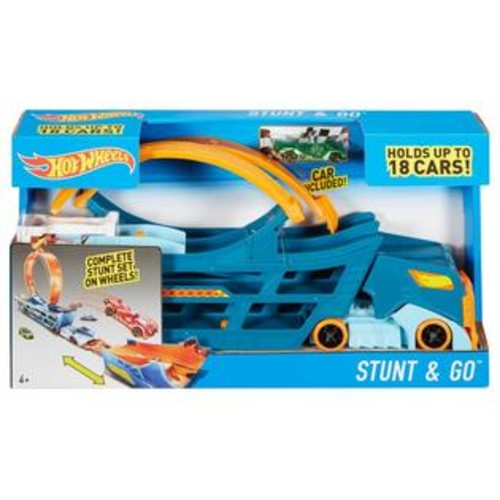 Hot Wheels Stunt and Go Complete Stunt Truck Playset