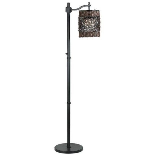 Kenroy Home Brent 60 in. Oil-Rubbed Bronze Outdoor Floor Lamp