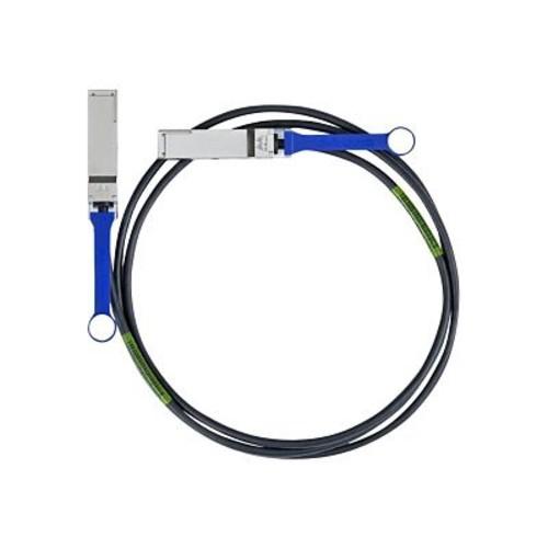 Mellanox MC2206130-002 Passive Copper IB QDR/FDR10 40GB/s QSFP Network Cable, 6.60'