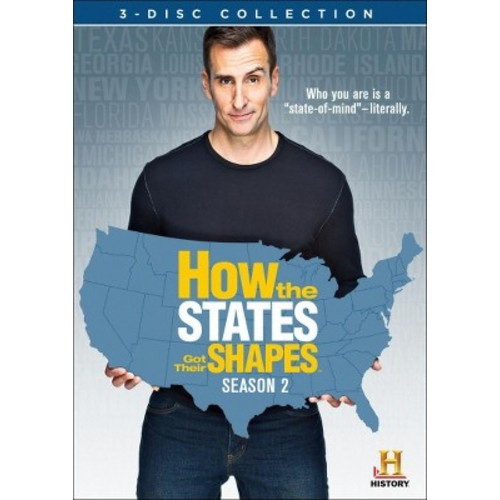 How the States Got Their Shapes: Season 2 [5 Discs] [DVD]
