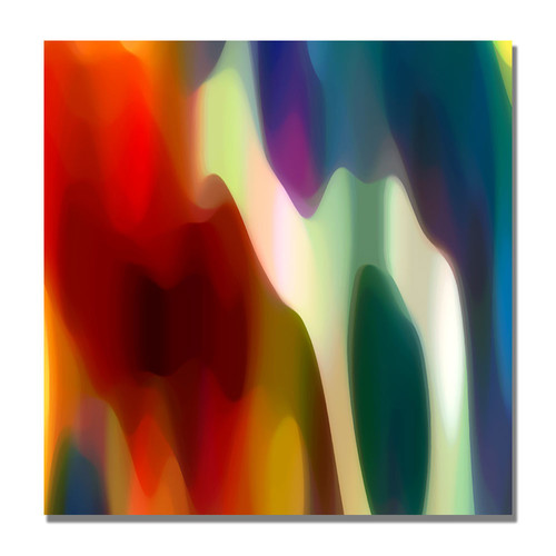 Trademark Global Amy Vangsgard 'Color Fury II' Canvas Art [Overall Dimensions : 18x18]