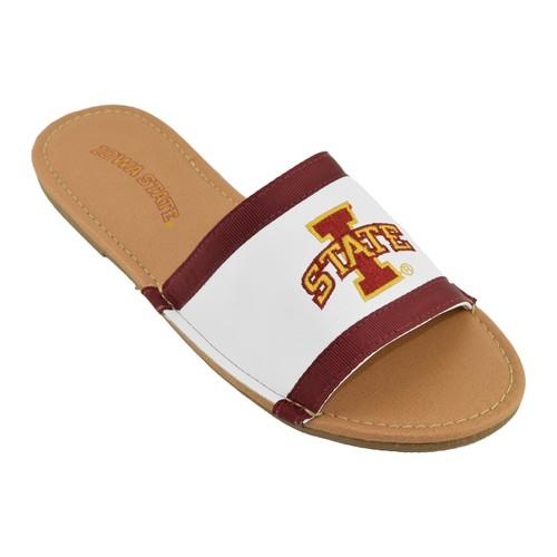 NCAA Women's Slide Sandal - Iowa State University Cyclones