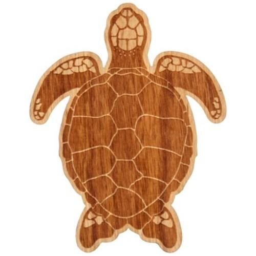Graphic Turtle Wood Sticker