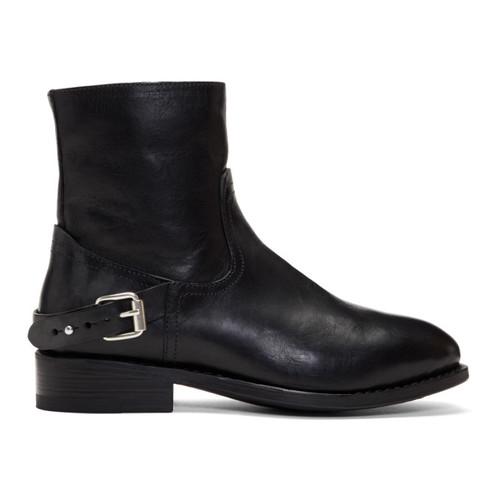 RAG & BONE Black Oliver Zip Boots