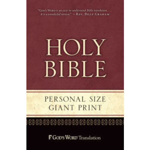 GW Personal Size Giant Print Paperback