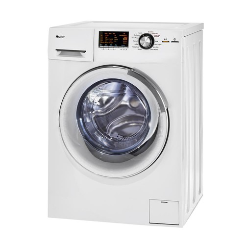 Haier 2.0 cu. ft. All-in-One Front Load Washer and Electric Dryer in White