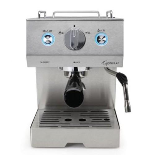 Capresso Caf PRO Professional Stainless Steel Espresso & Cappuccino Machine