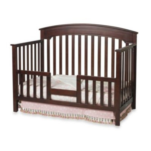 Child Craft Toddler Guard Rail for Convertible Cribs in Cherry