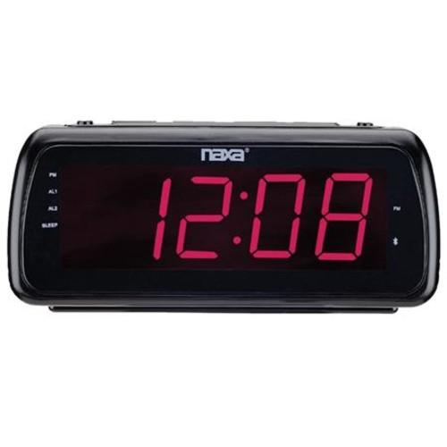 Naxa Dual Alarm Clock Easy-Read Dual Alarm