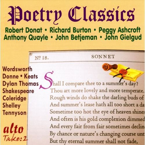 Poetry Classics: Great Voices [CD]