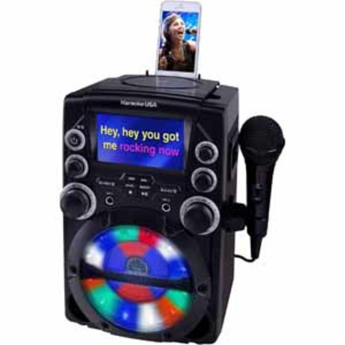 Karaoke Usa CDG Karaoke System with 4.3 Color TFT Screen