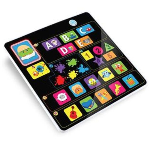 Kidz Delight Smooth Touch Fun N Play Children's Bilingual Learning Tablet
