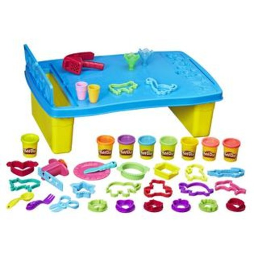 Hasbro,Play Play-Doh Play 'n Store Table Set